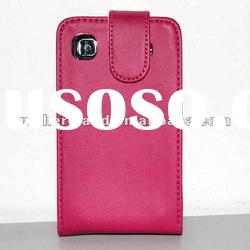 For Samsung Galaxy S i9000 Hot Pink Leather Case