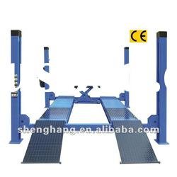 Four posts hydraulic lift car lift cheap car lifts lifting equipment 4000kgs