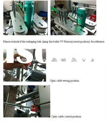 Full-automatic double heads labeling machine