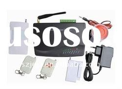GSM Alarm System with 3 Wired zone and 16 Wireless zone,GSM Home Alarm system