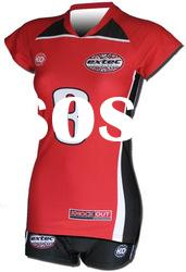 Girls coolmax sublimation volleyball uniform,volleyball clothing
