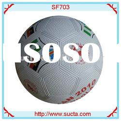 Good grip and grasp rubber soccer ball