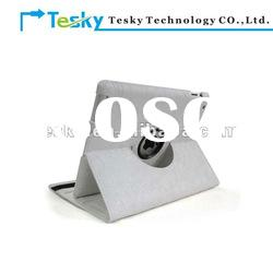 HOT 360 degree rotating leather case for ipad 3