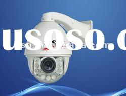 H.264 180m IR distance high speed dome camera for airport