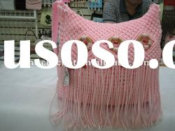 Hand made Knit Crochet Handicrafted Novelty Handbags KCC-HKBAG003/B