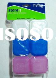 High quality 6-pc food grade plastic container