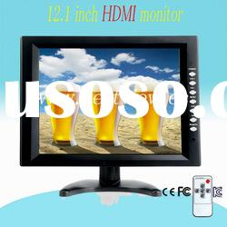 High resolution 12.1 inch lcd desktop monitor with touch screen
