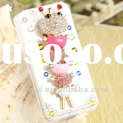 Hot selling 3D design animal apple iphone 4 case IC00027