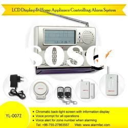 LCD Auto-Dial Intruder Alarm System With Home Appliance Control