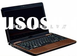 Laptop pc 14inch intel atom dual-core D525 DVD cheapest laptop computer price in shenzhen