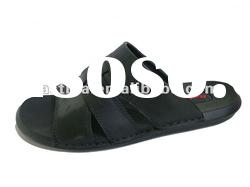 Lightweight men leather sandals and slippers