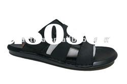 Lightweight men leather slipper