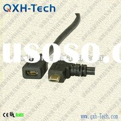 Micro USB Female Extension Cable With Ferrite