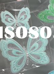 New Arrival!!!2012 Mini Blue Butterfly Birthday Cards With Box-- T192s