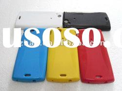 New Arrival Mobile Phone Crystal Solid TPU case for Sony X12 Xperia arc LT15i