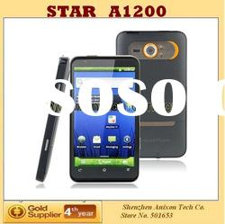 New STAR (A1200) 4.3 inch Android Phone with MTK6573 CPU WCDMA +GSM dual SIM WiFi GPS TV