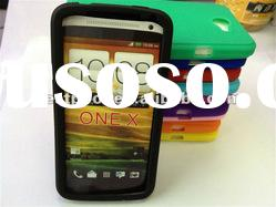 New arrival Silicone case cover for HTC ONE X Mixed colors