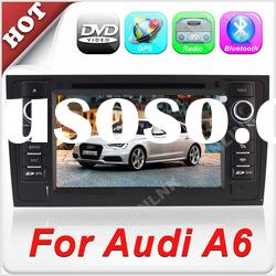 "Newest 7"" 2 Din Car DVD Player For Audi A6(1998 to 2004)"
