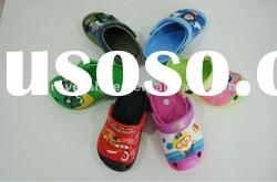 Qute and hotsale kids eva garden clog 2012