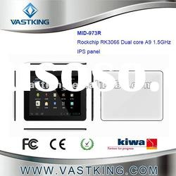 RK3066 Tablet pc 9.7 inch, Dual-core Cortex-A9 1.5GHz,IPS Panel 1024*768
