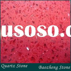 Red with mirror quartz stone tile for floor/wall