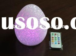 Remote control LED crystal color changing tealight for party, festival, Christmas