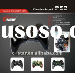 Rubber handle USB prot double vibration for ps2 controller