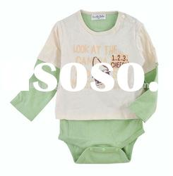 SG-4480- New Fashion Design Cotton Smart Baby Rompers