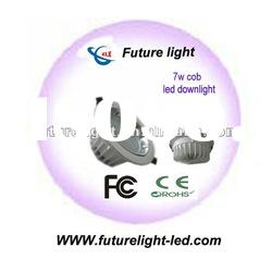 Supply high power 7w led cob downlight