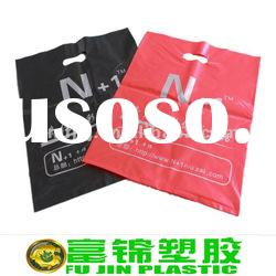The biodegradable hdpe pe plastic shopping bag with printing