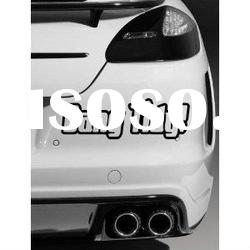 Tidy # Quality vinyl car sticker / Decal (Black)