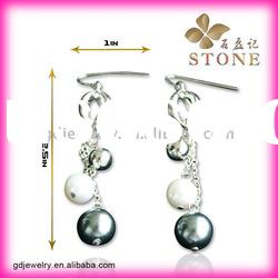 Top quality terne metal jewelry earring designs