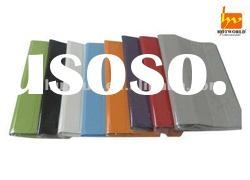 Two-sided four-foldable PU Leather Case cover for Ipad