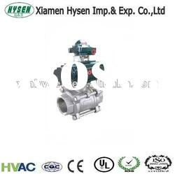 Two-way Pneumatic Actuated Ball Valve