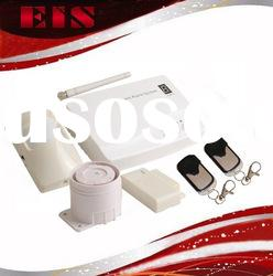 Wired and Wireless GSM Intruder Alarm Kits with 2 brands