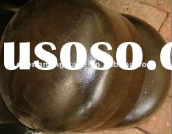 butt weld steel pipe cap a105 with black paintted