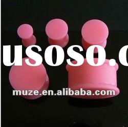 fashion silicone ear plug,ear piercing jewelry