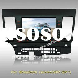 for Mitsubishi Lancer car dvd player with gps ipod rds canbus rockford 8v-cdc