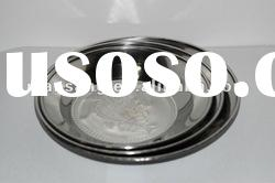 good quality stainless steel cheap dinner plate