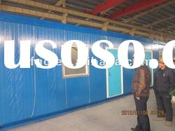 heat insulated eps sandwich panel prefa container house