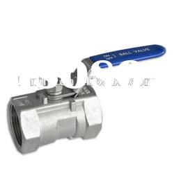 high quality low price stainless steel screwed 1 pc ball valve 304 material