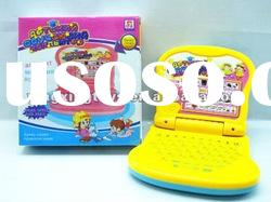 plastic kids laptop learning machine toy