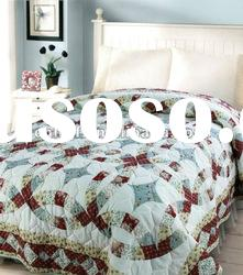 royal printed cotton knitting bedding quilt home textile