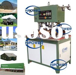 separated heads tarpaulin high frequency welding machine