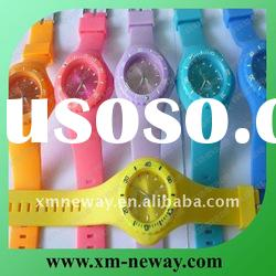silicone interchangeable band watch for 2012 london olympic games