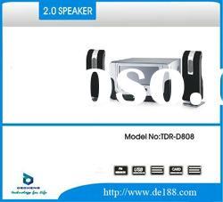 speaker home theatre system with FM TDR-D808