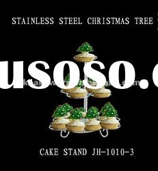 stainless steel wire kitchen craft 13 cupcake tree holder stand JH-1010-3