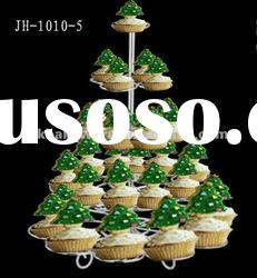 stainless steel wire kitchen craft 29 cupcake tree holder stand JH-1010-5