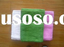100 cotton soild yarn dyed terry bath towel sets