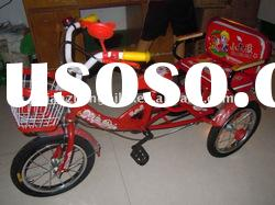 """14"""" new style kids tricycle /red tricycles /bicycle (promoting)"""